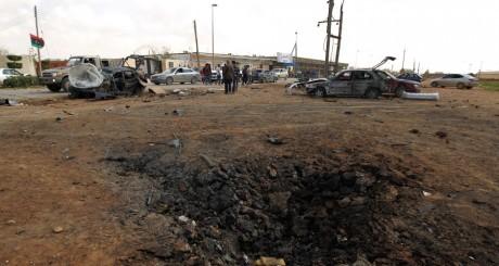 Après l'attentat du 17 mars 2014 à Benghazi / AFP