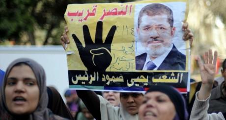 Manifestation en faveur de Mohamed Morsi / REUTERS