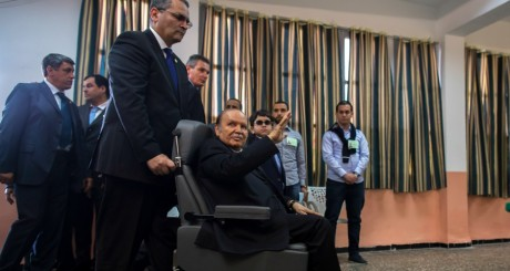 Abdelaziz Bouteflika, Alger, 17 avril 2014 / REUTERS