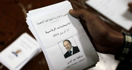 Le bulletin d'Abdelaziz Bouteflika / REUTERS