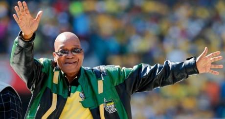 Jacob Zuma, lors du dernier grand meeting de l'ANC, le 4 mai 2014 / ANC