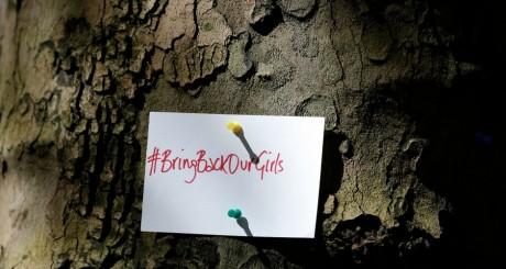 #BringBackOurGirls, thème de la mobilisation internationale pour retrouver les adolescentes nigérianes / REUTERS