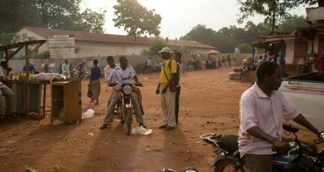 Un quartier de Bangui, mai 2014 / REUTERS