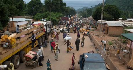 Evacuation de musulmans à Bangui, Bangui, 27 avril 2014 / REUTERS