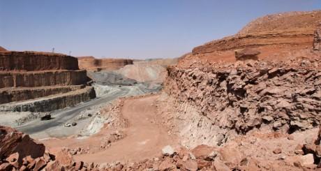 Mine à ciel ouvert de Somaïr, Arlit, Niger. © Jean-Marie Taillat / AREVA