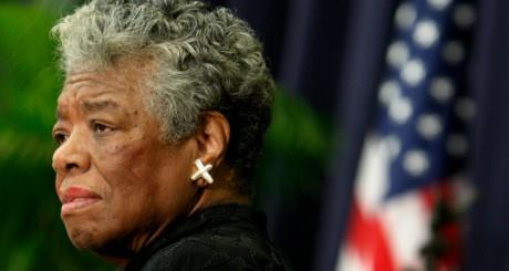 Maya Angelou à Washington, novembre 2008 / REUTERS