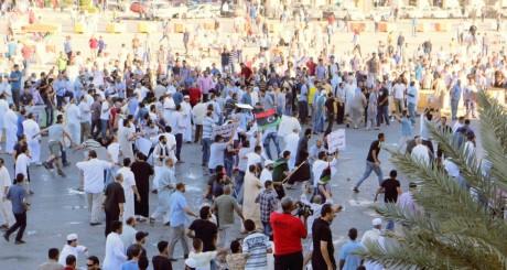 Manifestation en faveur de la paix en Libye, Tripoli, 6 juin 2014 / REUTERS