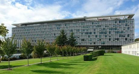 Les bureaux de l'OMS à Genève / REUTERS