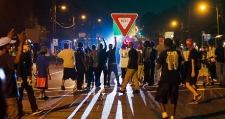 Manifestations à Ferguson, Missouri, 19 août 2014 / REUTERS
