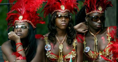 Des participantes au carnaval de Brooklyn, New York (2006) / REUTERS