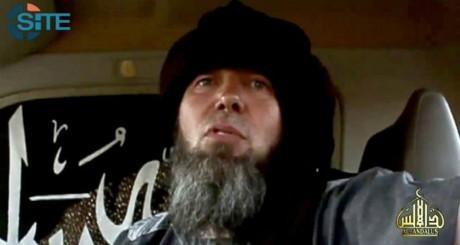 Capture d'écran montrant un otage présenté comme le Français Serge Lazarevic / AFP