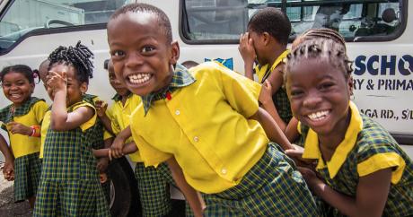 Smiling faces in Nigeria. Devesh Uba via Flickr.