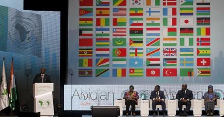 Le président de la Banque africaine de développement, Donald Kaberuka, le 26 mai 2015 à Abidjan. REUTERS/Luc Gnago