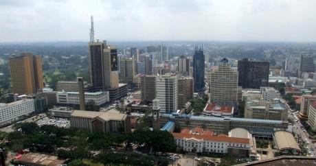 Le quartier d'affaires de Nairobi. Crédit photo: Jonathan Stonehouse via Flickr, Licensed By CC.