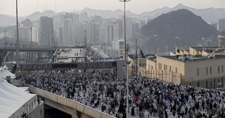 Des pèlerins à la Mecque, le 25 septembre 2015. Crédit photo: REUTERS/Ahmad Masood