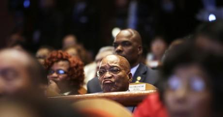 Le président sud-africain Jacob Zuma, le 5 décembre 2014. Crédit photo: REUTERS/Jason Lee