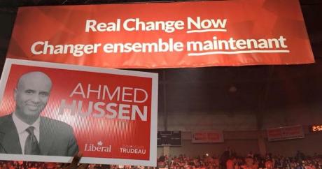 Capture d'écran du compte twitter d'Ahmed Hussen. DR