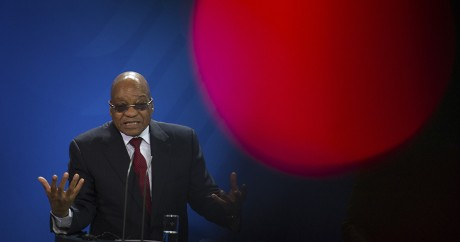Jacob Zuma, le 10 novembre 2015 à Berlin. Crédit photo: REUTERS/Stefanie Loos