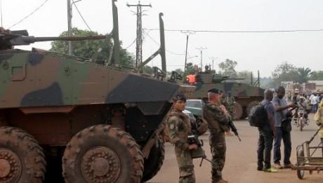 Des soldats français à Bangui le 13 mars 2015 AFP/Archives PACOME PABANDJI