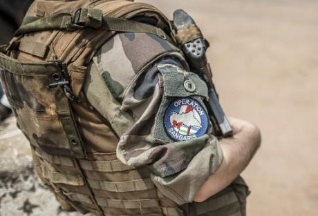 Un soldat français de l'opération Sangaris à Bangui le 4 juin 2014 AFP/Archives Marco Longari