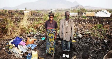 Un couple de pygmées du village de Mugunga, près de Goma dans l'est du Congo, le 27 août 2010. Crédit photo: REUTERS/O'Reilly