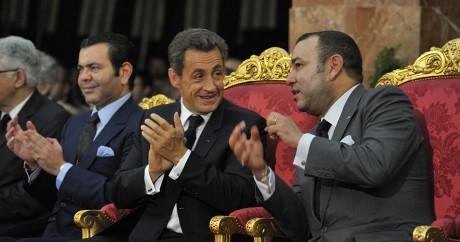 Mohamed VI et Nicolas Sarkozy, le 29 septembre 2011. Crédit photo: REUTERS/Philippe Wojazer