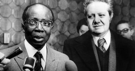 Léopold Sédar Senghor le 1er mars 1978 à Lisbonne. Crédit photo: UPI / AFP