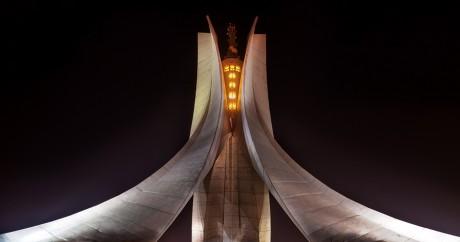 Le Mémorial du Martyr est un monument aux morts commémorant la guerre d'Algérie. Crédit photo: Henry_Marion via Flickr CC BY-SA