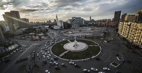 La place Tahrir le 24 janvier 2016. Crédit photo: KHALED DESOUKI / AFP