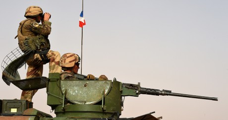 Des soldats français au Mali, le 5 juillet 2015. Crédit photo: PHILIPPE DESMAZES / AFP