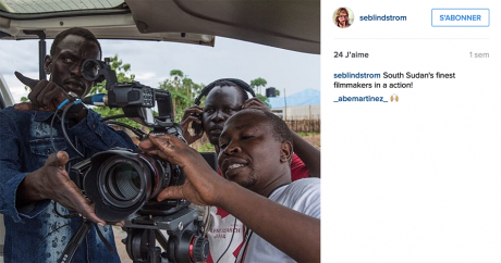 Capture d'écran du compte Instagram de Sebastian Lindström.