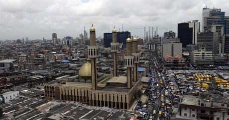 Le centre-ville de Lagos. PIUS UTOMI EKPEI / AFP