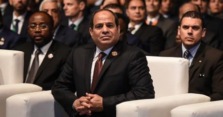 Le président égyptien al-Sissi, le 20 février 2016 à Charm el-Cheikh. MOHAMED EL-SHAHED / AFP
