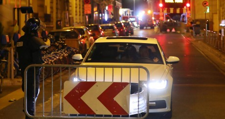 Nader El Shafei a survécu au drame de Nice jeudi soir. Valery HACHE / AFP