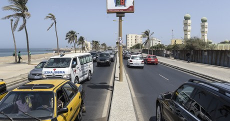 Dakar, 3 mai 2016. SEYLLOU / AFP