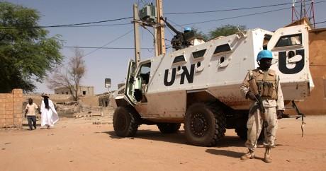 Un soldat de la Minusma, l'opération de maintien de la paix de l'ONU au Mali, le 19 septembre 2016 à Tombouctou. RIEUSSEC / AFP