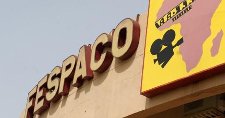 Le siège du festival de cinéma panafricain de Ouagadougou. ISSOUF SANOGO / AFP