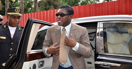 Teodorín Obiang à Malabo, le 25 juin 3013. JEROME LEROY / AFP