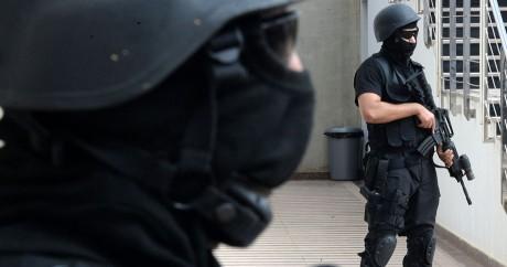 Des forces antiterroristes marocaines le 14 septembre 2016 à Rabat. FADEL SENNA / AFP