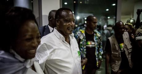 Le président congolais Sassou-Nguesso, le 24 mars 2016. MARCO LONGARI / AFP
