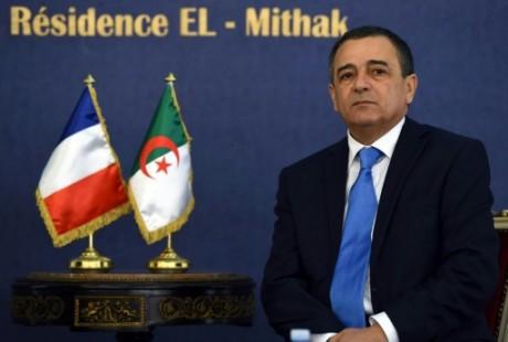 Le ministre algérien de l'Industrie Abdesselam Bouchouareb, le 9 juin 2014 à Alger AFP/Archives FAROUK BATICHE
