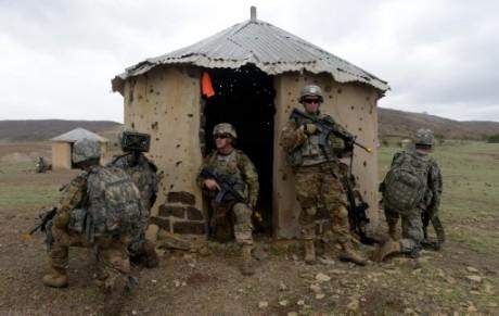 Des soldats américains s'entraînent à Thiès, au Sénégal, le 25 juillet 2016 AFP SEYLLOU