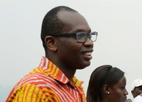 Willy Nyamitwe, responsable de la communication du président burundais, le 13 février 2016 à Bujumbura AFP/Archives
