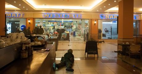 Une image de l'attaque terroriste de Westgate à Nairobi, le 21 septembre 2013. James Quest / AFP