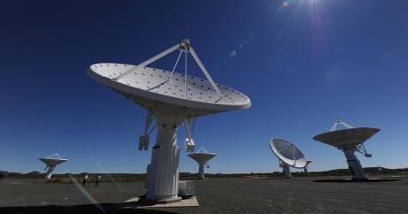 La station astronomique de Karoo en Afrique du Sud. Auteur / Source / Crédit ALEXANDER JOE / AFP