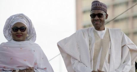 Le président Buhari et son épouse Aisha en mai 2015. Abuja. Pius Utomi Ekpei/AFP