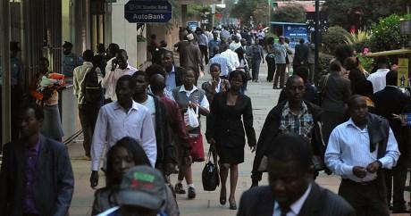 Le quartier d'affaires de Nairobi, le 30 septembre 2014. SIMON MAINA / AFP