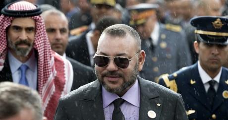 Le roi du monarque Mohammed VI, à Rabat le 23 mars 2017. FADEL SENNA / AFP