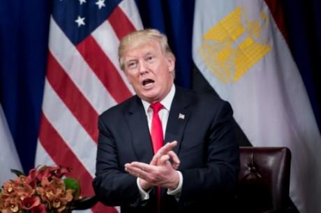 Donald Trump, le 20 septembre 2017 à New York AFP Brendan Smialowski