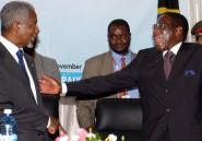 Kofi Annan aurait tenté de négocier le départ de Mugabe